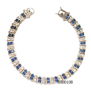 Exquisite 925 Silver Jewelry Set Ladies Bracelet Bah0029