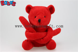 New Design Red Long Arm Plush Teddy Bear Toy Bos1119 pictures & photos