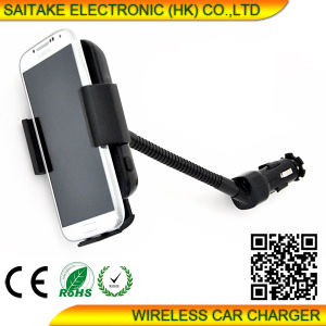 Car Qi Wireless Transmitter for Stk-A8 pictures & photos