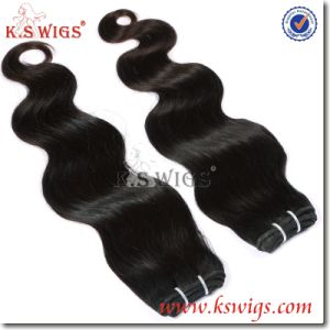 Top Quality Remy Virgin Indian Human Hair pictures & photos