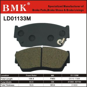 Advanced Quality Brake Pads (D1133M) pictures & photos