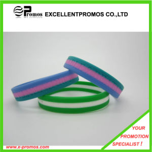 Cheap Slicone Rubber Wristband (EP-B9047) pictures & photos