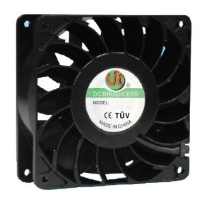 120mmx120mm X38mm High Air Impedance Axial Fans, AC120508 for High Temperature Environment pictures & photos