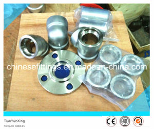 ANSI B16.11 3000lbs Inconel Uns N06625 Forged Fittings pictures & photos