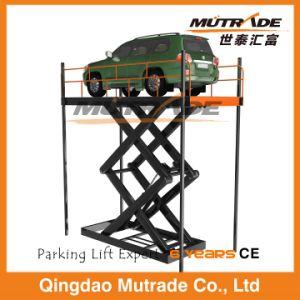 Double Cylinder Floor to Floor Vertical Hydraulic Scissor Lift pictures & photos
