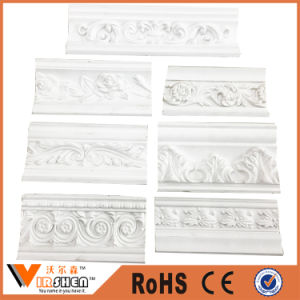 China Cheap PU Cornice Moulding Decorative Ceiling Cornice Factory pictures & photos