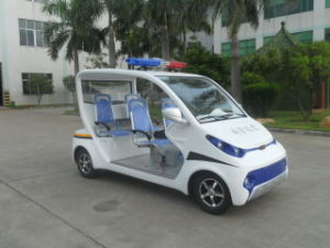 Wholesale 4 Seaters Electric Patrol Car pictures & photos
