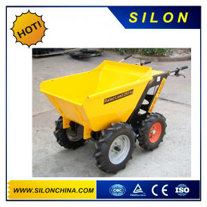 Mini Tipping Engine Skid Steer Dumper with Ce / ISO / SGS (250kg) pictures & photos