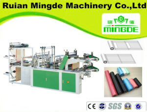 Automatic Continuous-Rolled Flat Plastic Bag Making Machine pictures & photos