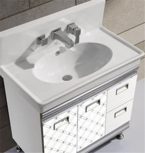 Modern Style Bathroom Vanity with Tap (T-9704) pictures & photos