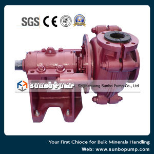 Rubber Lined Heavy Duty Centrifugal Slurry Pump for Ash & Ore pictures & photos