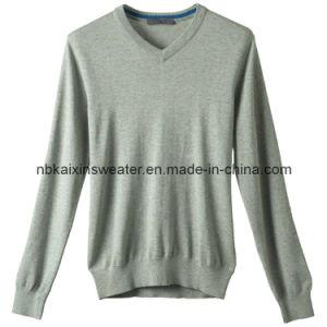 Men′s Basic Classic Sweater (KX-W37)
