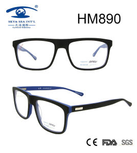 High Quality Wholesale Full Rim Acetate Eyeglasses (HM890) pictures & photos