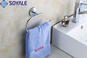 Zinc Alloy Towel Ring with Chrome Plated (SY-5960)