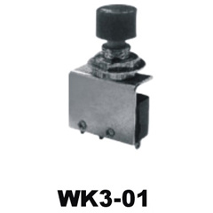Micro Switch Waterproof Switch with 2 Ways 5A/10A (WK3-01) pictures & photos