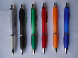 Plastic Ball Pen for Promotional Gift pictures & photos