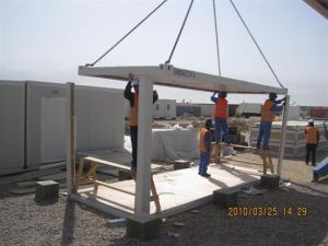 mobile cabins for labor camp/hotel/office/accommodation/toilet/apartment pictures & photos