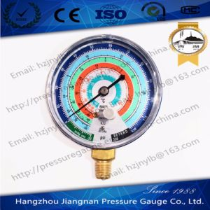 350psi Refrigerant Pressure Gauge with Colored Dial pictures & photos