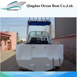 17FT 5.0m All-Welded Aluminum Fishing Vessel Hot Sale pictures & photos