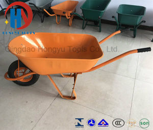 Africa Big Capacity Wheel Barrow with Rib Tire pictures & photos
