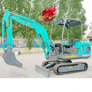 Mini Crawler Excavator Mini Tracked Excavator with CE Certificate