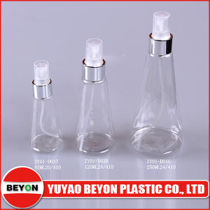 120ml Plastic Conical Bottle (ZY01-D038) pictures & photos