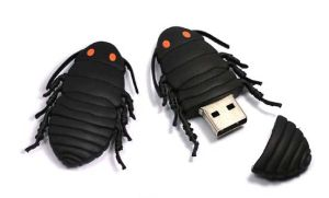 Insect Pendrive with Customer′s Logo, PVC Material pictures & photos