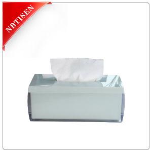 Acrylic/Plastic Crystal Tissue Box (TS8011-F)