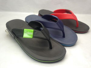 EVA Injection V Strap Slippers for Young Size (21IY17012) pictures & photos