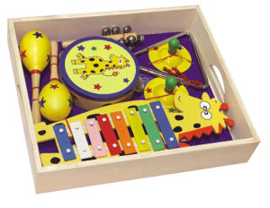 Wooden Musical Instrument Toys in a Box pictures & photos