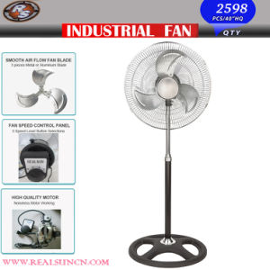 18inch Industrial Fan/Stand Fan with Silver Decorations pictures & photos