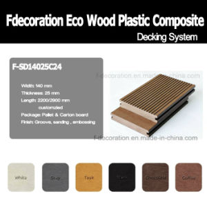 Eco Outdoor Wood Plastic Composite Decking WPC Flooring