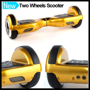 Gold Two Wheels Mini Smart Self Balancing Scooter pictures & photos