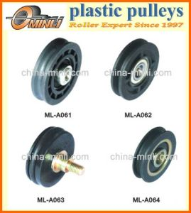 Nylon or Plastic Roller Pulley pictures & photos