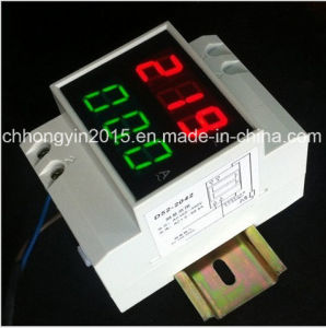 D52-2042 LED DIN-Rail AC Dual Display Meter pictures & photos