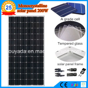 200W Monocrystalline Solar Cell pictures & photos