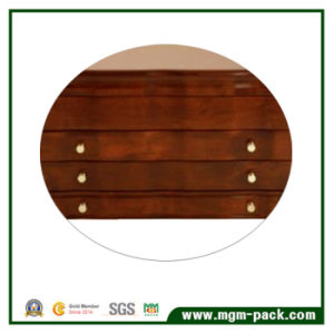 Hight Glossy Wooden Jewelry Storage Box with Velvet Interior pictures & photos