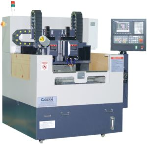 Double Spindle Glass Cutting Machine for Mobile Glass (RCG500D)