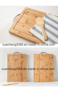 Made in China Durable Square Bamboo Cutting Borad pictures & photos