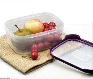 6 in 1 Food Container Food Grade Plastic Fresh-Keeping Box pictures & photos