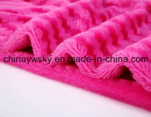 Screw Rose Fabric/Rose Fleece/PV Fleece/Toy Fabric pictures & photos