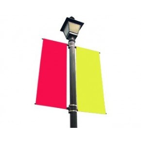 Bannerssaver Holder Master Outdoor Light Pole Image Poster Hardware Brackets pictures & photos