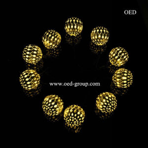 Amazing LED Fairy Lights Hollow Ball LED Solar Lamp LED Light String From China pictures & photos
