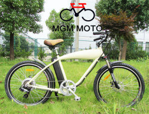 Retro Model 26′ Beach Cruiser Mountain Electric Bicycle pictures & photos