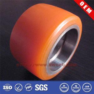 Orange Color Plastic Nylon Wheels by CNC Milling pictures & photos