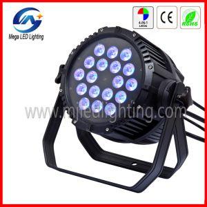 18*10W 4in1 IP65 LED PAR 64 DMX Stage Lighting