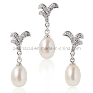 Fashion Fresh Water Pearl Wedding Jewelry pictures & photos