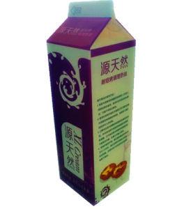 3-Layer 907g Gable Top Carton Box for Juice/Milk/Cream/Wine/Water/Yoghurt pictures & photos