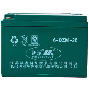 Xupai Sealed Lead Acid Battery/VRLA Battery 6-DZM-28