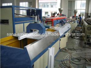 PVC WPC Plastic Profile Extrusion Machine Line pictures & photos